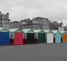 Beach Huts in Hove by SkatingGirl