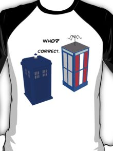 Dr. Who's Excellent Adventure T-Shirt