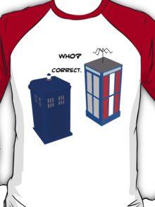 Dr. Who's Excellent Adventure T-Shirt