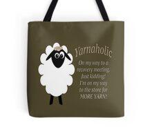 Yarnaholic lamb Tote Bag