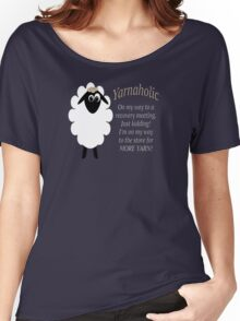 Yarnaholic lamb Women's Relaxed Fit T-Shirt