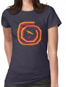 Decca 2 Tone Womens Fitted T-Shirt