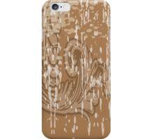 Brown Flourish iPhone Case/Skin