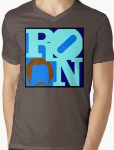 Ron Love Mens V-Neck T-Shirt