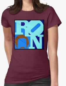Ron Love Womens Fitted T-Shirt