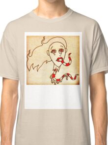 Down the Lips, Out the Throat.  Classic T-Shirt