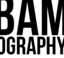 BAMography in Polaroid Border Sticker