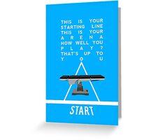 Grey's Anatomy - The Game Greeting Card