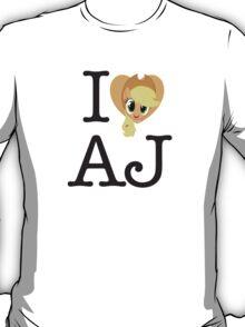 I <3 Applejack T-Shirt