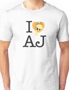 I <3 Applejack Unisex T-Shirt