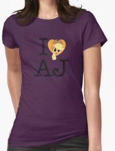 I <3 Applejack Womens Fitted T-Shirt