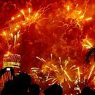 Riverfire 2012 fireworks by kmatm