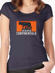 Roma Continentale Women's Fitted Scoop T-Shirt