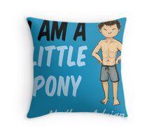 Nathan Adrian Throw Pillow