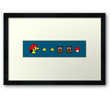 Bros.-Man (a) Framed Print