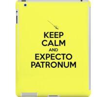 Keep Calm and Expecto Patronum iPad Case/Skin