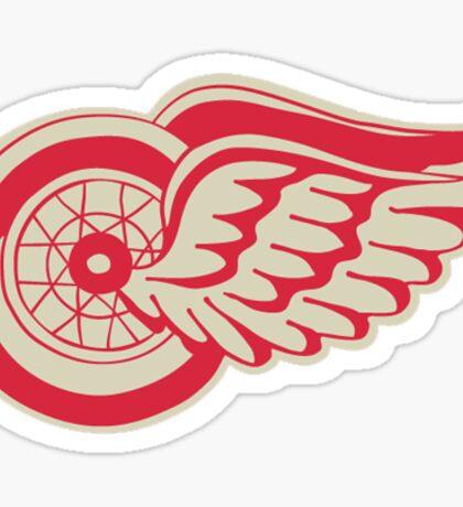 red wings winter classic logo  Sticker