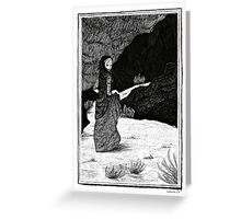 Lot's Wife Greeting Card