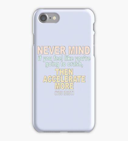 BTS / NEVER MIND / TYPOGRAPHY / VERSION #1 iPhone Case/Skin