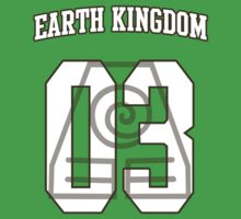 Earth Kingdom Jersey #03 by iamthevale