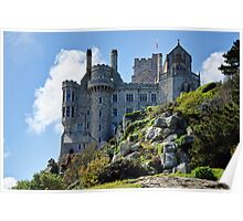 Rock Solid ~ St Michael's Mount Poster