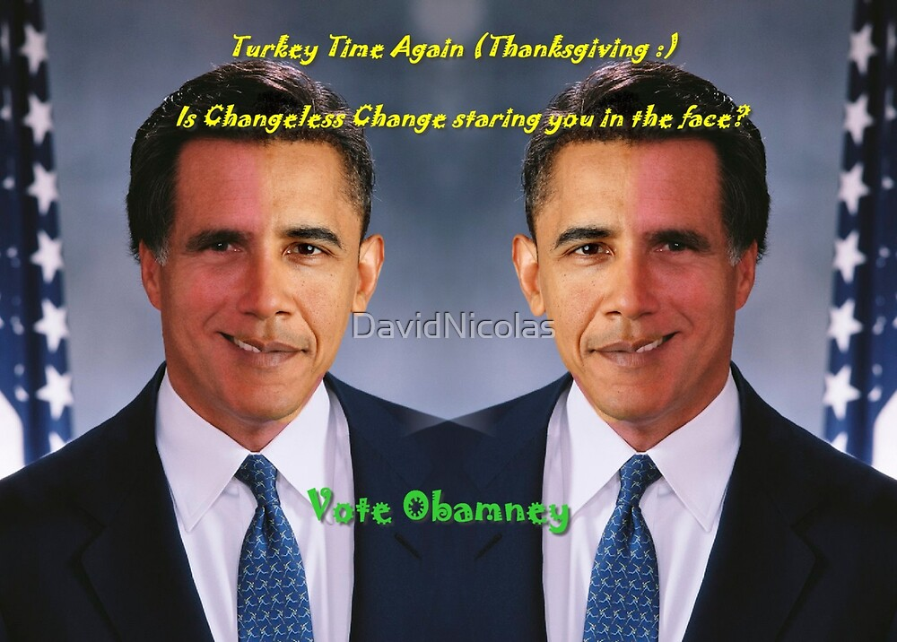 Vote Obamney by David Nicolas