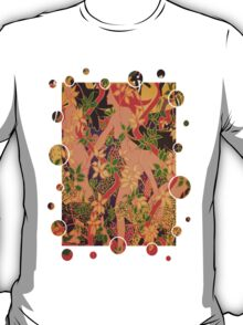 Goddess of The Hunt In Ornate Gold Border T-Shirt