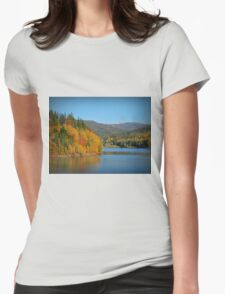 Polish Golden Autumn Womens Fitted T-Shirt