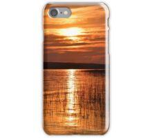 Alberta Sunset in June iPhone Case/Skin