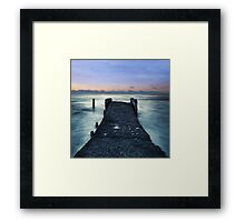 Sea.  Framed Print