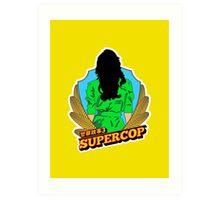 Supercop #1 Art Print