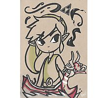 Link, Waker of Winds Photographic Print