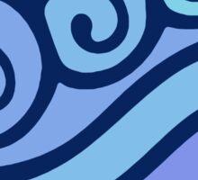 Waterbending Symbol Sticker