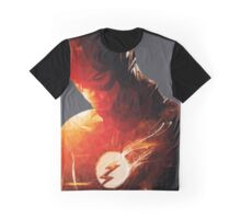 THE FLASH polygonal Graphic T-Shirt