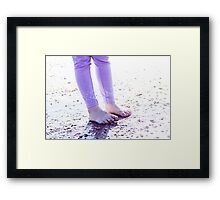 By the Water Framed Print