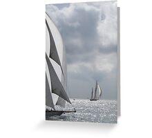 Panerai Classic Yachts Challenge Greeting Card