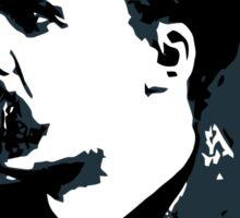Friedrich Nietzsche portrait vector drawing  Sticker