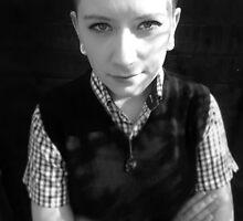 Skinhead Girl by JudithBillinger