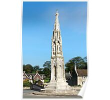 The Ilam Cross  Poster