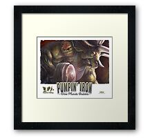 Pumping Iron Framed Print