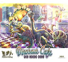 Dinosaur Cafe by MudgeStudios