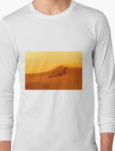 Red Desert Sand Dune.  Long Sleeve T-Shirt