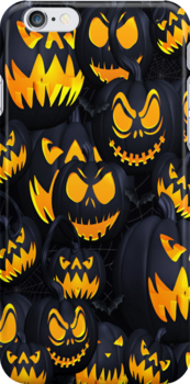 Halloween .. iphone case by LoneAngel