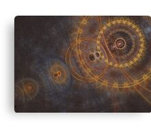 Clockwork mind Canvas Print