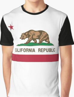 California Flag Graphic T-Shirt