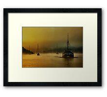 Carina In The Mist Framed Print