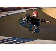 Airborne Grommet - Empire Park Skate Park Photographic Print