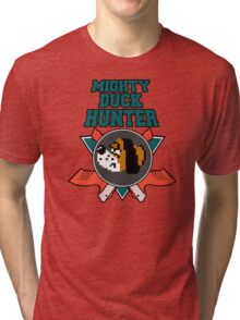 Mighty Duck Hunter Tri-blend T-Shirt