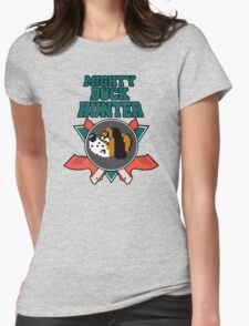 Mighty Duck Hunter Womens Fitted T-Shirt