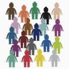 United Colors of Minifig by Customize My Minifig  by ChilleeW